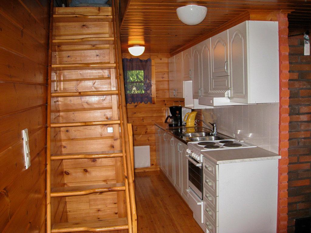 Alppimaja - keittiö