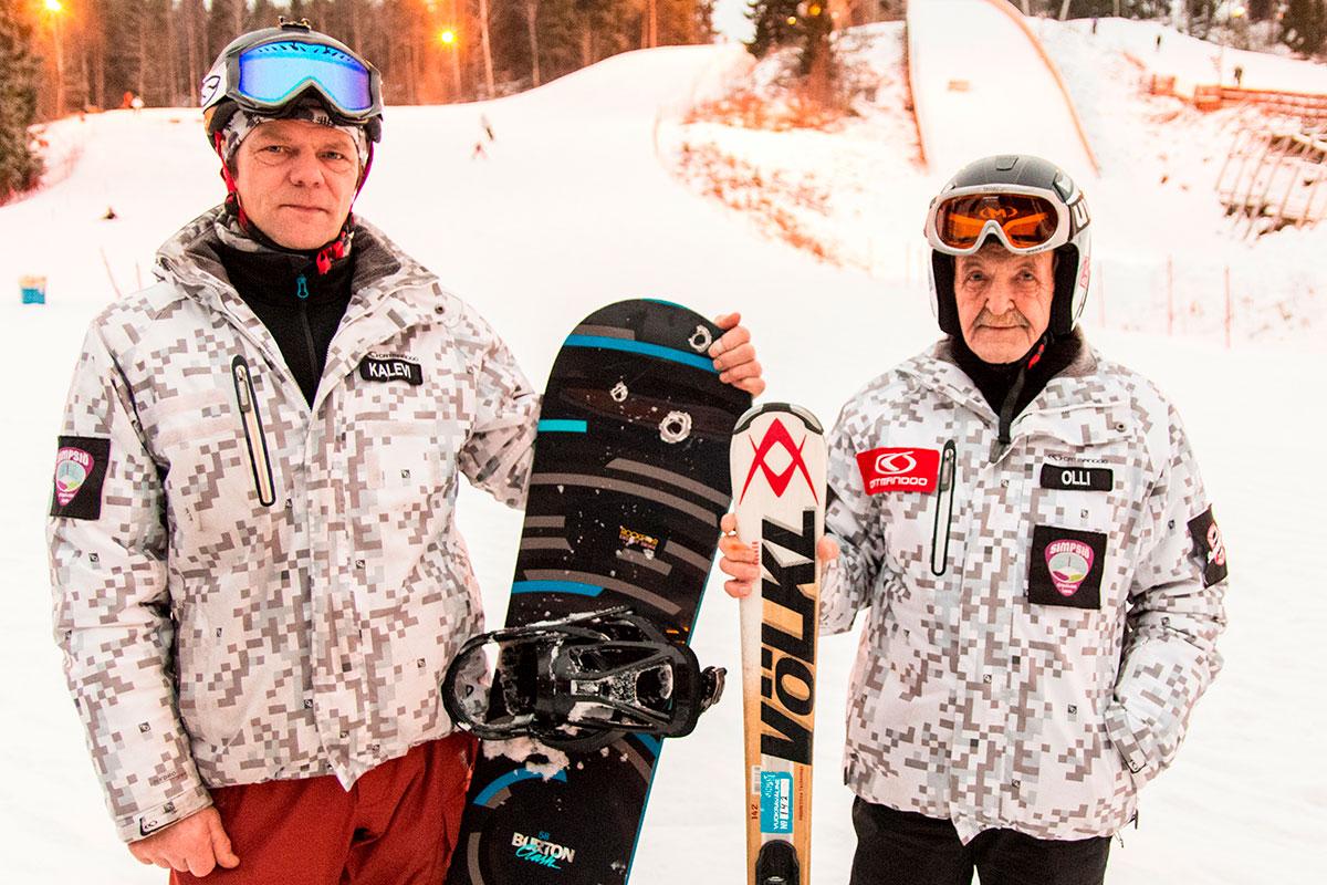 Simpsiön hiihtokoulu